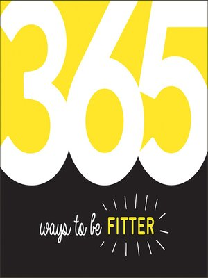 cover image of 365 Ways to Be Fitter