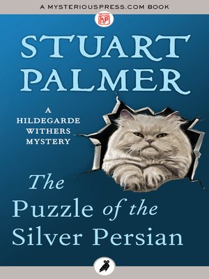 cover image of The Puzzle of the Silver Persian