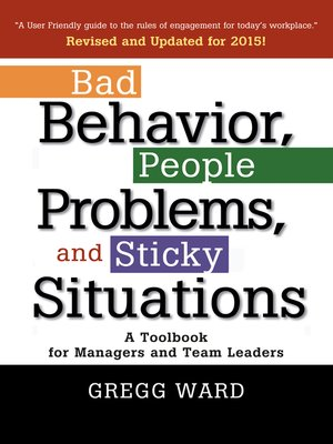 cover image of Bad Behavior, People Problems and Sticky Situations