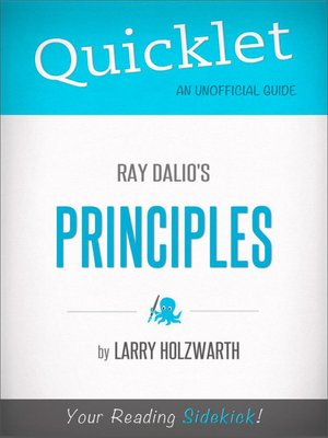 cover image of Quicklet on Ray Dalio's Principles