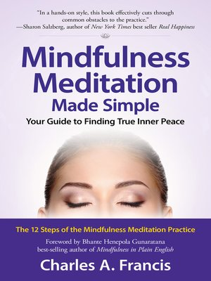 cover image of Mindfulness Meditation Made Simple