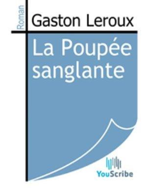 cover image of La Poupée sanglante