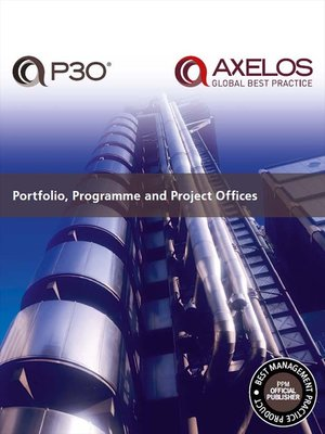 cover image of Portfolio, Programme and Project Offices (P30®)