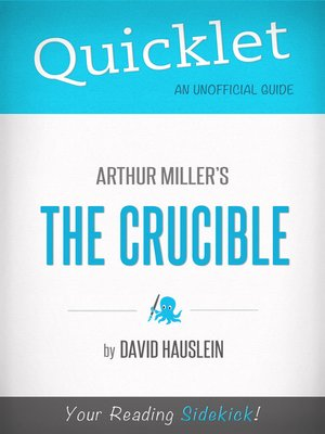 cover image of Quicklet on Arthur Miller's the Crucible