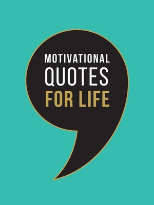 cover image of Motivational Quotes for Life
