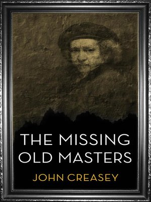 cover image of The Missing Old Masters