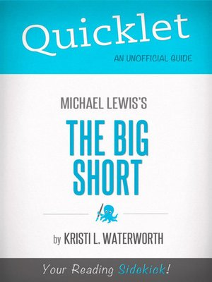 cover image of Quicklet on Michael Lewis' the Big Short