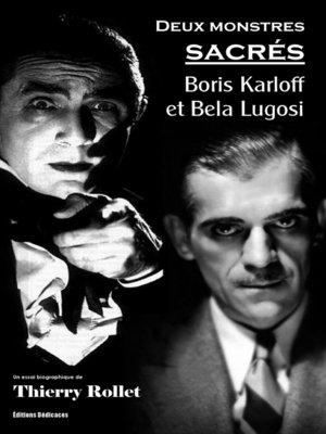 cover image of Deux monstres sacrés