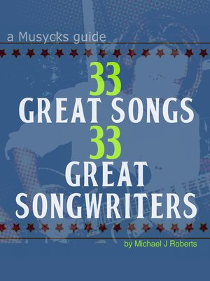 cover image of 33 Great Songs 33 Great Songwriters