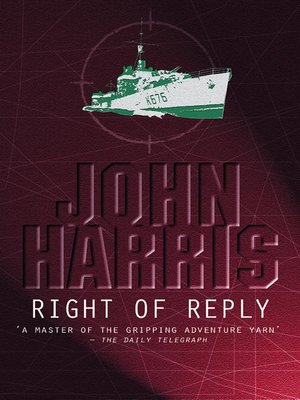 cover image of Right of Reply