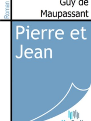 cover image of Pierre et Jean