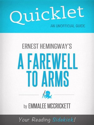 cover image of Quicklet on Ernest Hemingway's A Farewell to Arms