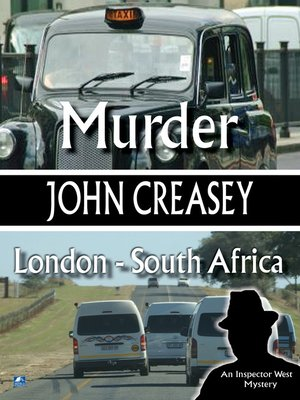 cover image of Murder, London--South Africa