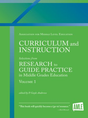 cover image of Curriculum and Instruction