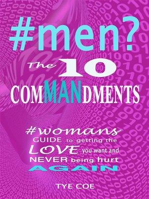 cover image of #men? the 10 Commandments