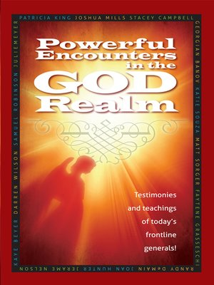 cover image of Powerful Encounters in the God Realm