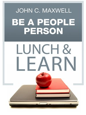 cover image of Be a People Person Lunch & Learn