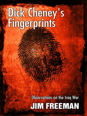 cover image of Dick Cheney's Fingerprints