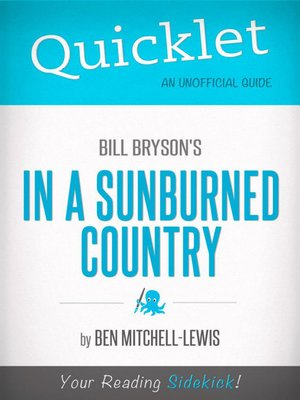 cover image of Quicklet on Bill Bryson's in a Sunburned Country
