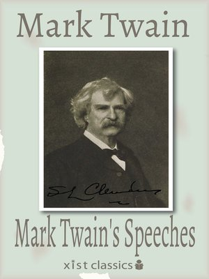 cover image of Mark Twain's Speeches