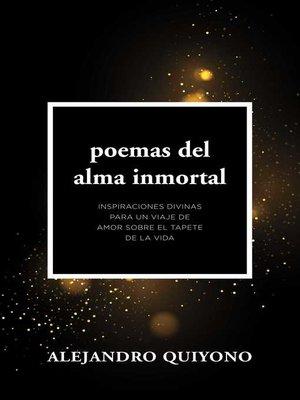 cover image of Poemas Del Alma Inmortal