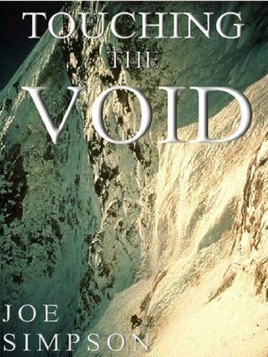 cover image of Touching the Void