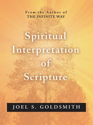 cover image of Spiritual Interpretation of Scripture