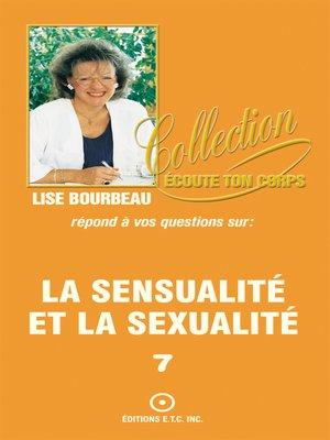 cover image of La sensualité et la sexualité