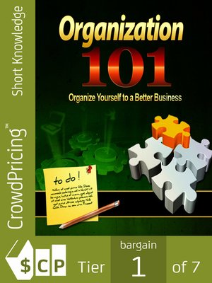 cover image of Organization 101