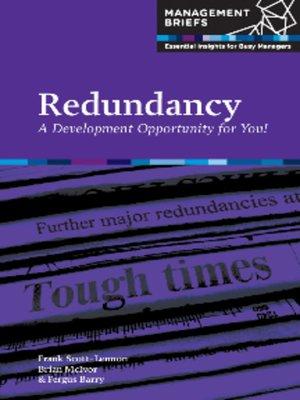 cover image of Redundancy
