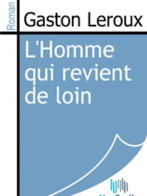 cover image of L'Homme qui revient de loin