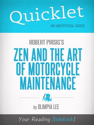 cover image of Quicklet on Zen and the Art of Motorcycle Maintenance by Robert Pirsig