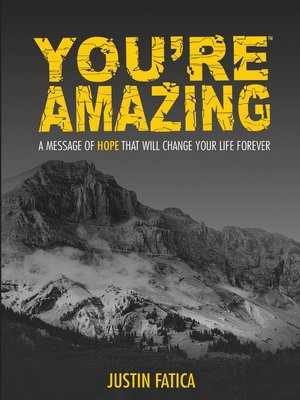 cover image of You're Amazing