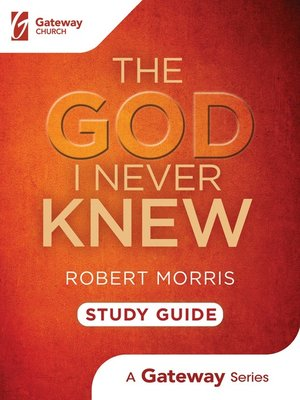 cover image of The God I Never Knew Study Guide