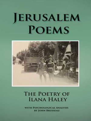 cover image of Jerusalem Poems