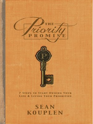 cover image of The Priority Promise