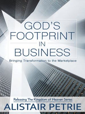 cover image of God's Footprint in Business