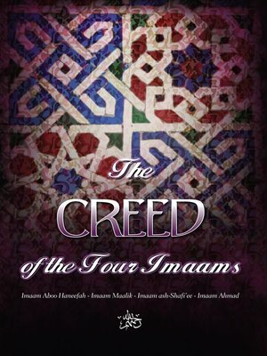 cover image of The Creed of the Four Imaams