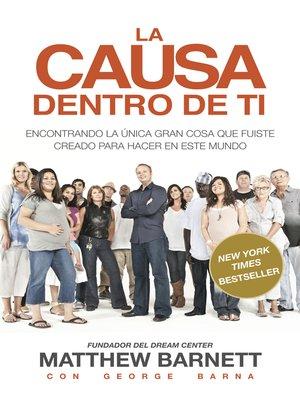 cover image of La Causa Dentro de Ti