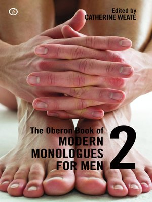 cover image of The Oberon Book of Modern Monologues for Men, Volume 2