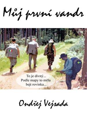 cover image of Můj první vandr (Czech edition)