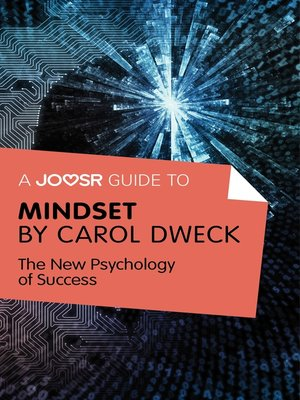 cover image of A Joosr Guide to... Mindset by Carol Dweck