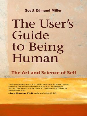 cover image of The User's Guide to Being Human