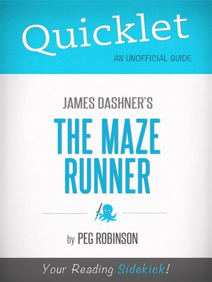 cover image of Quicklet on James Dashner's the Maze Runner