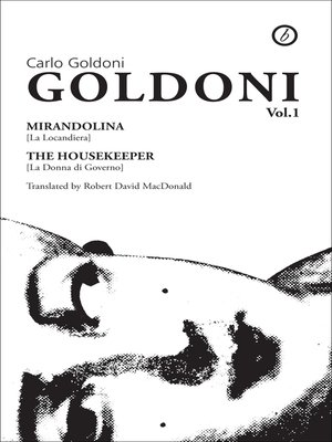 cover image of Goldoni: Volume One