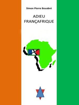 cover image of Adieu Francafrique