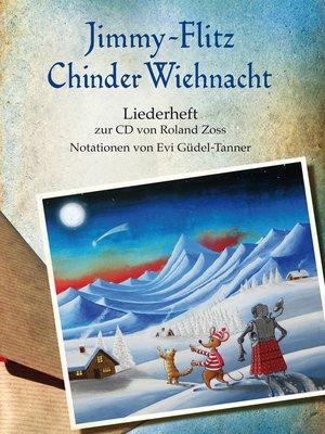 cover image of Jimmy Flitz ChinderWiehnacht <li> Liederheft