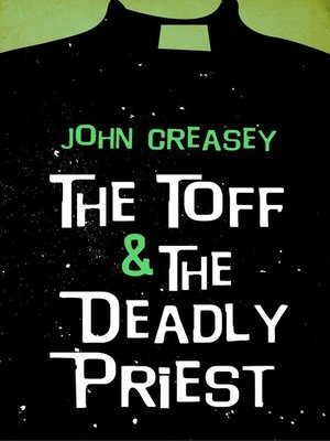 cover image of The Toff and the Deadly Priest