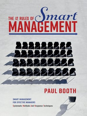cover image of The 12 Rules of Smart Management