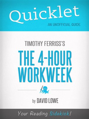 cover image of Quicklet on the 4-hour Work Week by Tim Ferriss